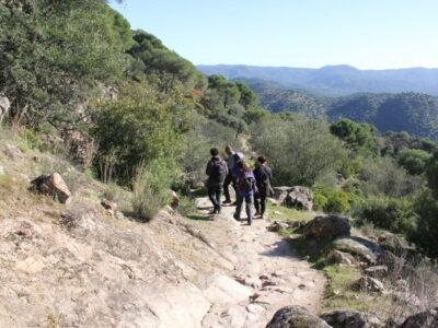 Ruta de senderismo por el Parque Natural de la Sierra de Andújar