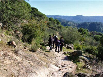 Ruta de senderismo por el Parque Natural Sierra de Andújar
